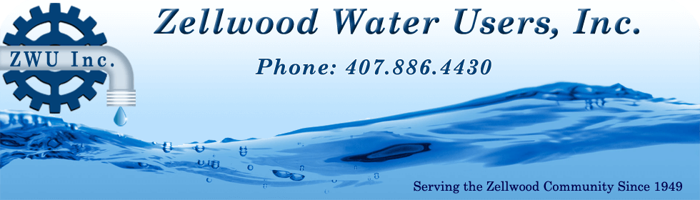 Zellwood Water Users, Inc. PHone 407-886-4430